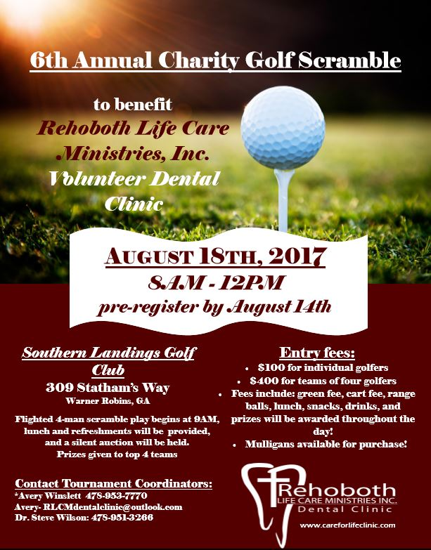 Golf Tournament 2017, Click for More Information